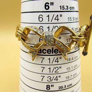 Juicy Couture Bow Rhinestone Bracelet